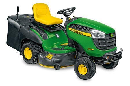 John Deere X135R & X155R
